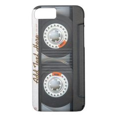 Custom iPhone 6 Cassette Tape Case for sale. Personalized vintage mix-tape cases or covers for your iPhone 6 and iPhone 6 plus. Iphone 6 Cases, Iphone 6 Plus Case, Iphone 8, Samsung Cases, Mixtape, Father's Day, Best Stocking Stuffers, Cool Technology, Samsung Galaxy S6