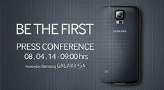 Samsung Galaxy S5 se presentará en México el 8 de abril.