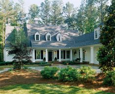 One of my all-time favorite house plans, Crabapple Cottage by Southern Living Houseplans.