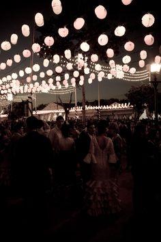 Sevilla en la Feria de Abril
