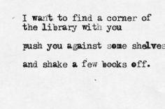 Shake a few books off :)