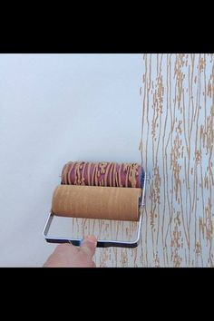 Interesting idea for painting a wall :)