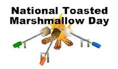 August 30  National Toasted Marshmallow Day