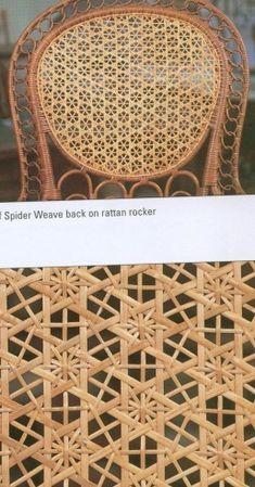 Snowflake & Spider weave patterns 001