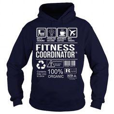 Awesome Tee For Fitness Coordinator T Shirts, Hoodie Sweatshirts