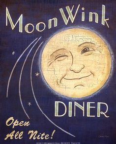 Moon Wink Diner by Louise Max