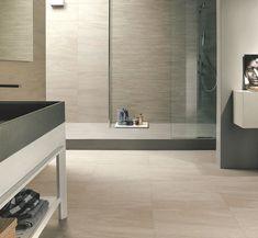 Wall Tiles - Designer Wall Tiles from Europe. Stone Cladding, Brick Flooring, Modern House Design, Tile Design, Wall Tiles, Bathtub, Mirror, Bathroom, Travertine