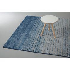 wehkamp.nl Vloerkleed  (230x160 cm), blauw/lichtgrijs