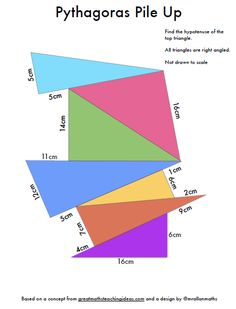 Resourceaholic: 5 Maths Gems #33 Pythagoras pile up