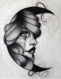 Pin by richard dyminski on female эскиз тату, тату, татуировки. Tattoo Girls, Pin Up Girl Tattoo, Girl Face Tattoo, Girl Tattoos, Tatoos, Tattoo Sketches, Tattoo Drawings, Body Art Tattoos, Art Sketches