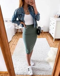 30 preppy summer outfits to copy now 39 Preppy Summer Outfits, Cute Casual Outfits, Stylish Outfits, Spring Outfits, Looks Adidas, Mode Outfits, Fashion Outfits, Mode Lookbook, Fashion Lookbook