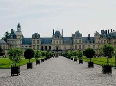 Chateau de Fontainebleau, France: an older Chateau sat at this site in the 12th century. It  was in use as a royal residence and a palace for royal guests until the late 18th century. It is now home to Écoles d'Art Américaines, a school of art, architecture, and music for students from the United States.