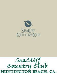 SeaCliff Country Club In Huntington Beach California -repinned from Orange County, CA wedding officiant https://OfficiantGuy.com #ocweddings #orangecountyofficiant