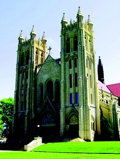 This parish predates Kansas Statehood and its architecture is hard to keep your eyes off of! Come see the Grace Episcopal Cathedral in Topeka to see a 63-rank Schantz pipe organ for free!