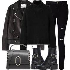 Untitled #3267 by elenaday on Polyvore featuring polyvore, fashion, style, Burberry, Acne Studios, Miss Selfridge, Jil Sander, 3.1 Phillip Lim and clothing