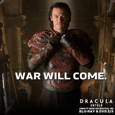 Dracula Untold comes out on Bluray tomorrow! Luke Evans Dracula, Dracula Untold, I Movie, Love Him, Eye Candy, Cinema, Actors, Movie Posters, Fictional Characters