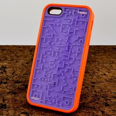 Throw a ball maze on the back of your phone with this phone case!