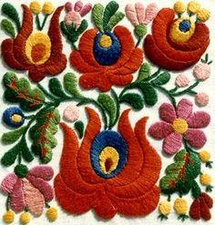 #kalocsa #kalocsai embroidery (http://www.kalocsa-embroidery.com/)