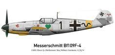 Bf 109F-4, Oblt. Max-Hellmuth Osterman