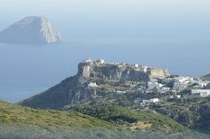 We ♥ Greece   Castle and old city view from Strapodi, #Kythera #Greece #travel #greekislands #explore #destination