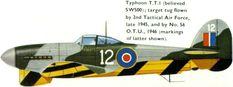 Hawker Typhoon Target Tug