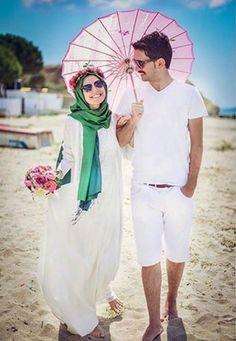 How to wear cute hijab in honeymoon – Just Trendy Girls