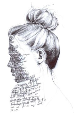 deep drawings drawing face sketch crying woman line read away need side