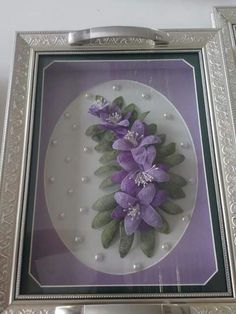 I Pressed Flower Art, Diy Flowers, Quilling, Frame, Crafts, Decor, Trays, Tejidos, Accessories