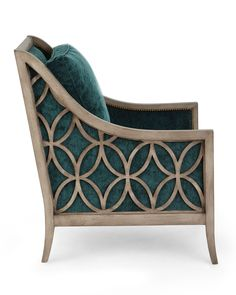 Shop Tahoe Accent Chair from Massoud at Horchow, where you'll find new lower shipping on hundreds of home furnishings and gifts. Art Deco Furniture, Bedroom Furniture Sets, Home Decor Furniture, Furniture Projects, Luxury Furniture, Furniture Design, Furniture Outlet, Office Furniture, Furniture Dolly