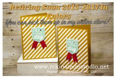 Each year Stampin' Up! Introduces a new set of the five hottest colors that are on trend. This is sadly the year that some of my favorites since I started will say goodbye.  I wil…