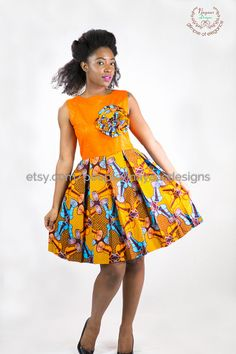 African Print Dress Women African Clothing Summer by NayaasDesigns Remilekun - African Styles for Ladies African Inspired Fashion, Latest African Fashion Dresses, African Dresses For Kids, Baby Girl Dress Patterns, African Traditional Dresses, Ankara Dress, African Attire, African Women, African Lace