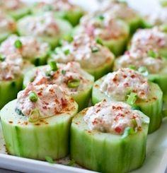 HCG cucumber Snack Recipe