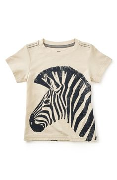 Toddler Boy's Tea Collection 'Hoofbeats' Graphic T-Shirt, Size
