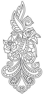 Rose & Bone - Sleeve Accent_image