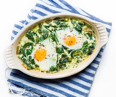 An eggy brunch dish for someone special.