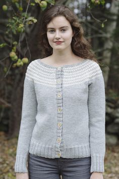 harriet cardigan / from slip stitches, a collection by carrie bostick hoge / in quince & co. lark