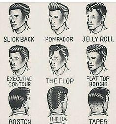 Old School Mens Hairstyles