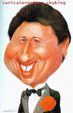 Michel Drucker - Caricatures de stars