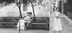 New York City Hall wedding captured by romantic NYC wedding photographer Ben Lau.