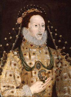 c 1575 Queen Elizabeth I 1533-1603