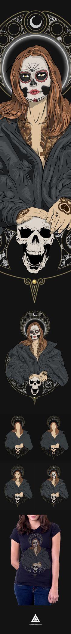 Lady Death on Behance