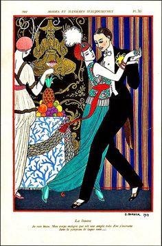 La Danse George Barbier 1914