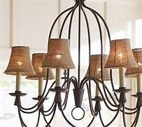 Traditional Chandeliers with Drum Shades - Bing images
