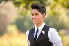 lesbian wedding attire | Tumblr