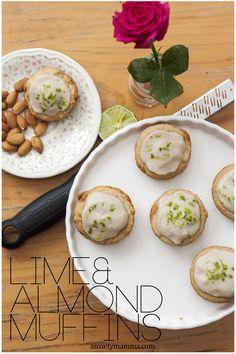 Lime and Almond Sugar-Free Muffin Recipe