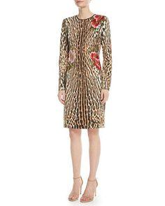 a00f735530 Designer Cocktail Dresses at Neiman Marcus. Naeem KhanSheath Dress AppliqueFloralClothesNeiman MarcusCocktail DressesSpandexNeckline