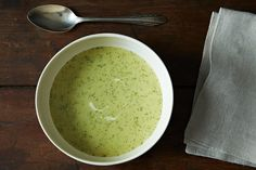 The secret of using butter and keeping the flavor of the soup authentic.  Jane Grigson's Celery Soup