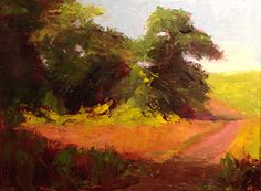 Fort Hill by Peggy Orbon Oil ~ 9 x 12