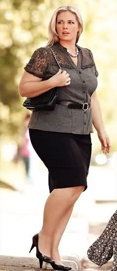 Plus Size Office Style