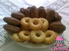Teasütemény (pisztolyos vagy darálós) & My grandma made all the time! Hungarian Desserts, Hungarian Cake, Hungarian Recipes, Hungarian Food, Austrian Recipes, Winter Food, Cake Cookies, Nutella, Good Food
